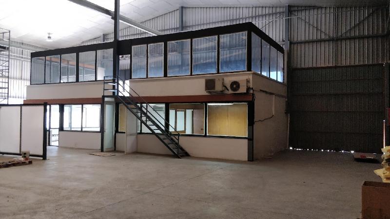 reforma integral nave industrial barcelona oficinas