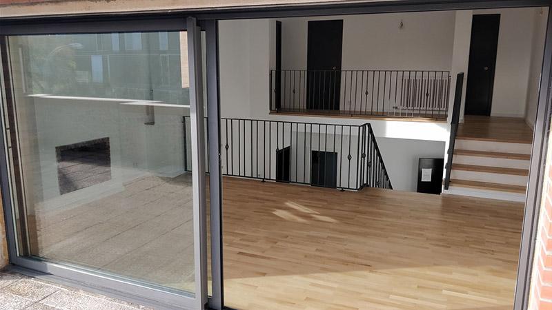 reforma piso sant cugat aluminio